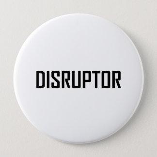 Bóton Redondo 10.16cm Negócio da tecnologia do Disruptor