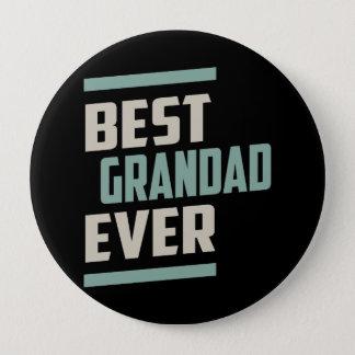 Bóton Redondo 10.16cm O melhor Grandad nunca