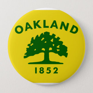 Bóton Redondo 10.16cm Oakland, Califórnia