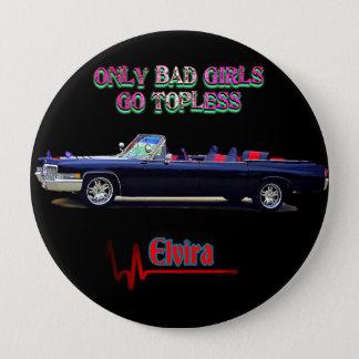 Bóton Redondo 10.16cm Pin de Elvira