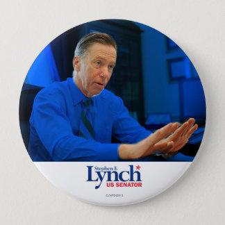 Bóton Redondo 10.16cm Stephen Lynch para o Senado
