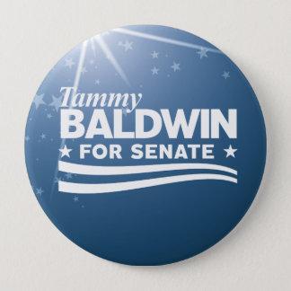 Bóton Redondo 10.16cm Tammy Baldwin
