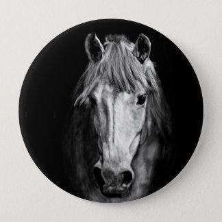 Bóton Redondo 10.16cm Um cavalo chamou Elvis