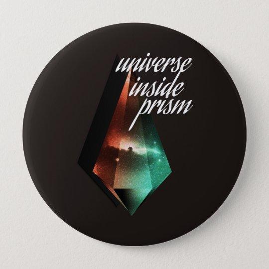 Bóton Redondo 10.16cm Universe inside prism