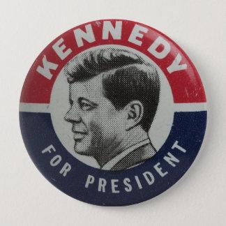 Bóton Redondo 10.16cm Voto para o botão da eleição de Kennedy