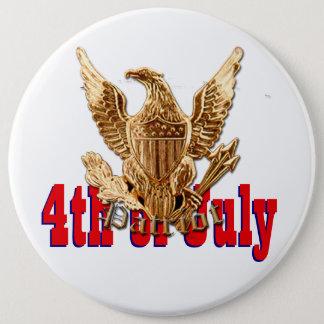 Bóton Redondo 15.24cm 4 de julho EUA