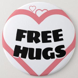 Bóton Redondo 15.24cm Abraços livres