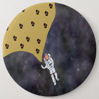 Bóton Redondo 15.24cm Adeus Pin da galáxia