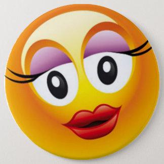 Bóton Redondo 15.24cm Alegria feliz de Sally