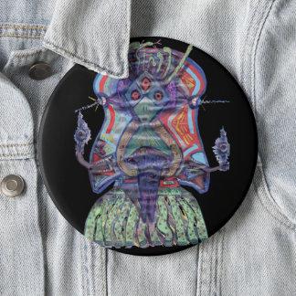 Bóton Redondo 15.24cm Ano do botão do cobra
