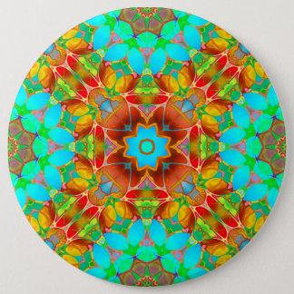 Bóton Redondo 15.24cm Arte floral G410 do Fractal do botão