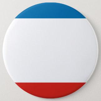 Bóton Redondo 15.24cm Bandeira de Crimeia