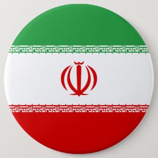 Bóton Redondo 15.24cm Bandeira de Irã