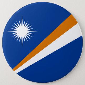 Bóton Redondo 15.24cm Bandeira de Marshall Islands