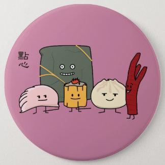 Bóton Redondo 15.24cm Bolo chinês dos bolos da bolinha de massa de Bao