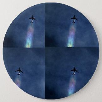Bóton Redondo 15.24cm Botão da arte do avião