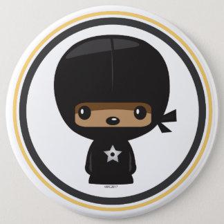 Bóton Redondo 15.24cm Botão de Ninja