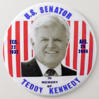 Bóton Redondo 15.24cm Botão do memorial de Kennedy do ursinho