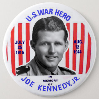 Bóton Redondo 15.24cm Botão do memorial do Jr. de Joe Kennedy