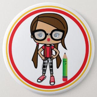 Bóton Redondo 15.24cm Botão do nerd
