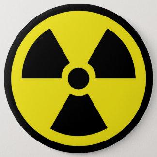 Bóton Redondo 15.24cm Botão dos resíduos nucleares