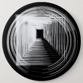 Bóton Redondo 15.24cm Botão geométrico do círculo do inverno