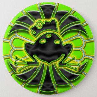 Bóton Redondo 15.24cm Botão gigante de Deco do sapo