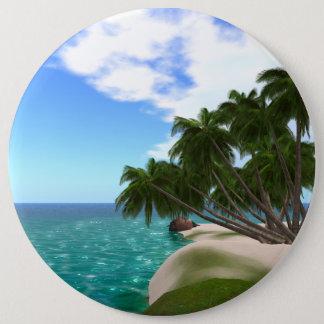 Bóton Redondo 15.24cm Botão redondo colossal de 6 polegadas da ilha