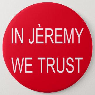 Bóton Redondo 15.24cm Crachá de Jeremy Corbyn Arsène