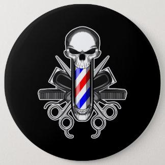 Bóton Redondo 15.24cm Crânio do barbeiro: Ferramentas do comércio