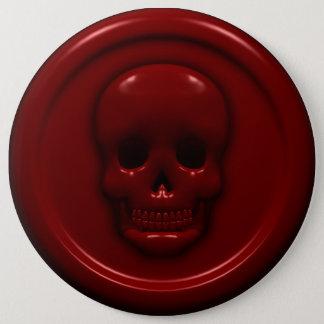 Bóton Redondo 15.24cm Crânio do sangue
