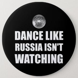 Bóton Redondo 15.24cm Dança como Rússia que não olha