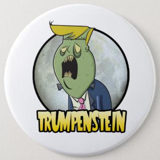 Bóton Redondo 15.24cm Donald Trump é Trumpenstein para o presidente