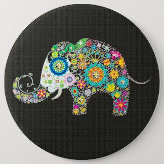 Bóton Redondo 15.24cm Elefante da flor com parafusos prisioneiros do