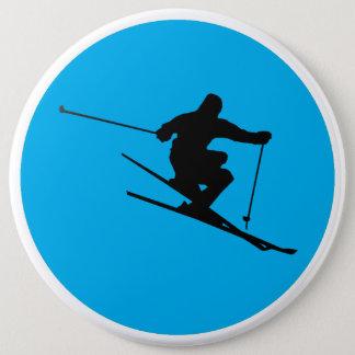 Bóton Redondo 15.24cm Esquiador