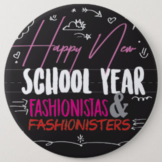 Bóton Redondo 15.24cm Fashionistas novos felizes & Fashionisters do ano
