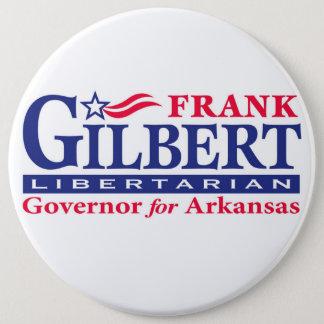 Bóton Redondo 15.24cm Frank Gilbert para o governador