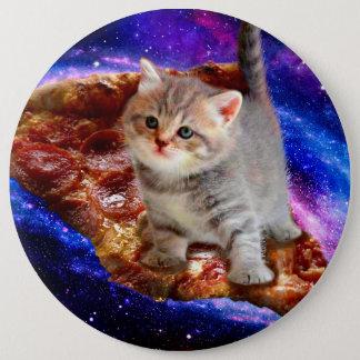 Bóton Redondo 15.24cm gato da pizza - gatos bonitos - gatinho - gatinhos