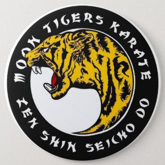 Bóton Redondo 15.24cm Karaté dos tigres da lua