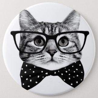 Bóton Redondo 15.24cm laço do gato - gato dos vidros - gato de vidro