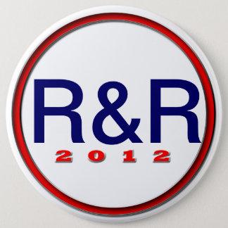 Bóton Redondo 15.24cm Luva Paul R&R
