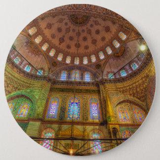 Bóton Redondo 15.24cm Mesquita azul Istambul