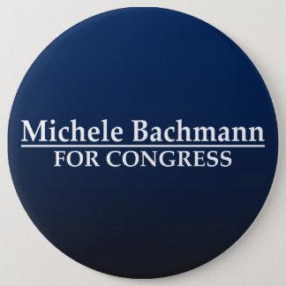 Bóton Redondo 15.24cm Michele Bachmann para o congresso