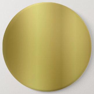 Bóton Redondo 15.24cm Modelo vazio do ouro
