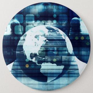 Bóton Redondo 15.24cm Mundo de Digitas e indústria do estilo de vida da