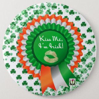 Bóton Redondo 15.24cm O botão 53086 do St Patrick do prazer de Fairlings