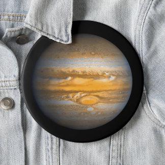Bóton Redondo 15.24cm Olho do planeta de Jupiter do jumbo do espaço