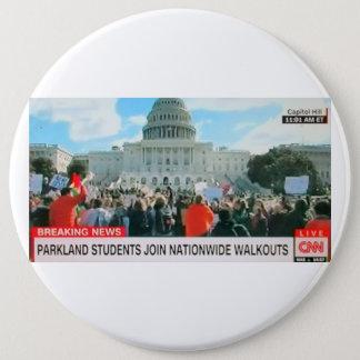 Bóton Redondo 15.24cm Os estudantes de Parkland juntam-se ao botão de