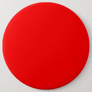 Bóton Redondo 15.24cm Papel de parede colorido do modelo vermelho do