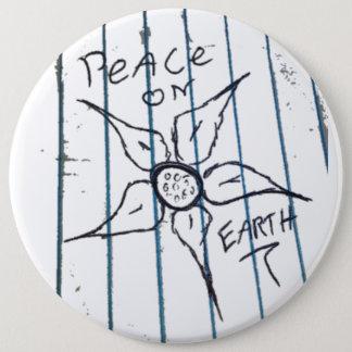 Bóton Redondo 15.24cm Paz na terra